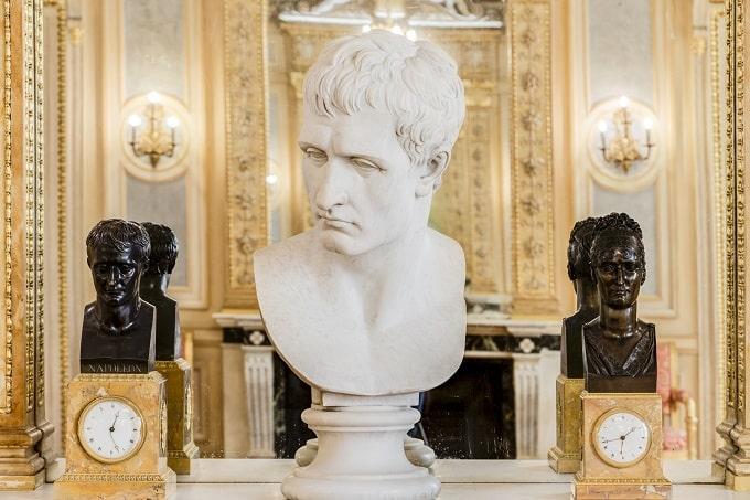 The Napoleon's rooms