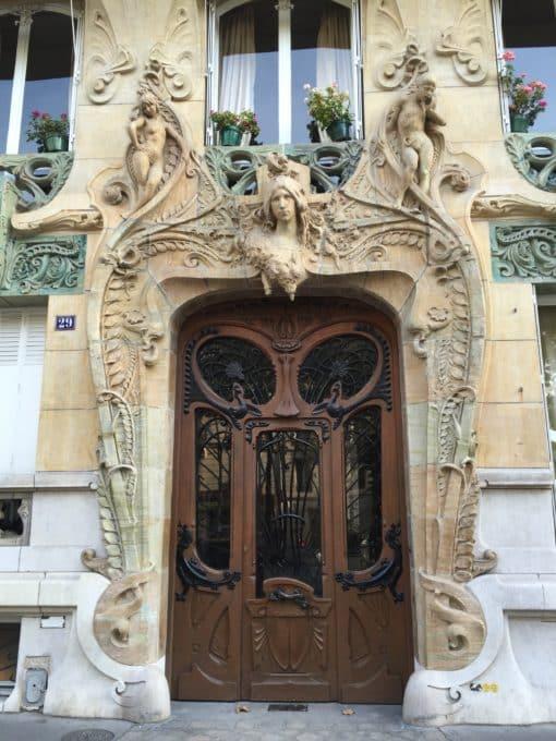 Art Nouveau dans le 16e