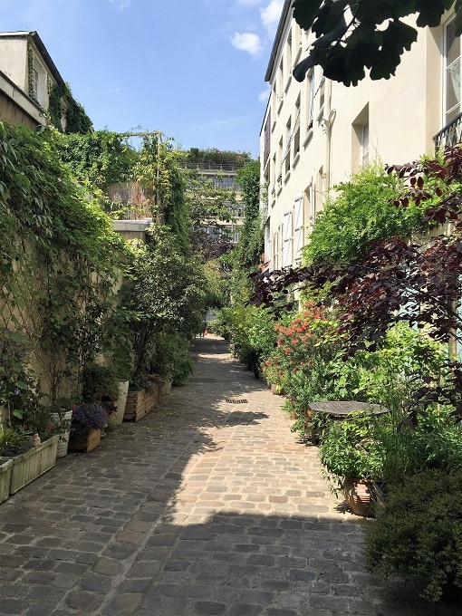 Courtyards and Passages of the Bastille
